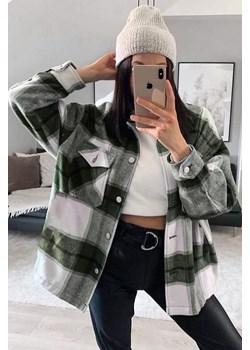 Koszula damska BILDA GREEN Ivet Shop wyprzedaż - kod rabatowy