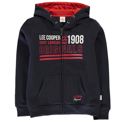 Bluza z kapturem chłopięca Lee Cooper Bright Zip Lee Cooper M Factcool