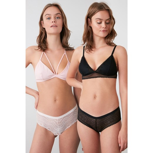 Trendyol Powder Lacy 2-pair Panties Trendyol M Factcool