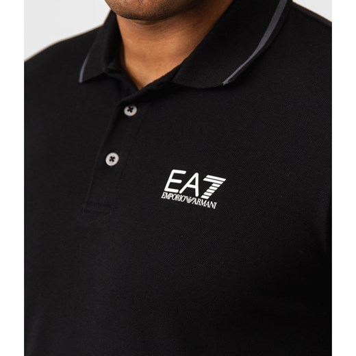 EA7 Polo | Regular Fit XL okazyjna cena Gomez Fashion Store