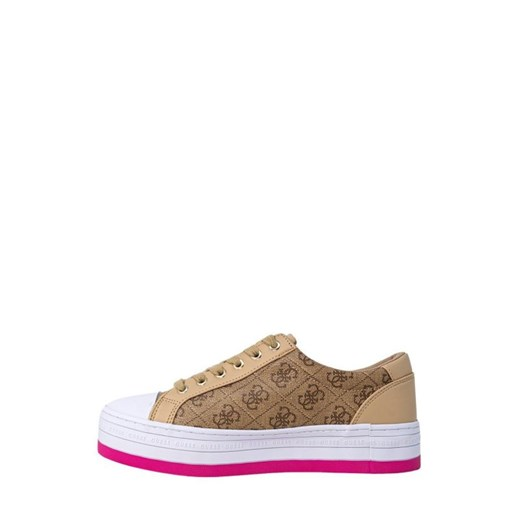 guess - Guess Kobieta Sneakers - BARONA ACTIVE - Beżowy Guess 39 Italian Collection