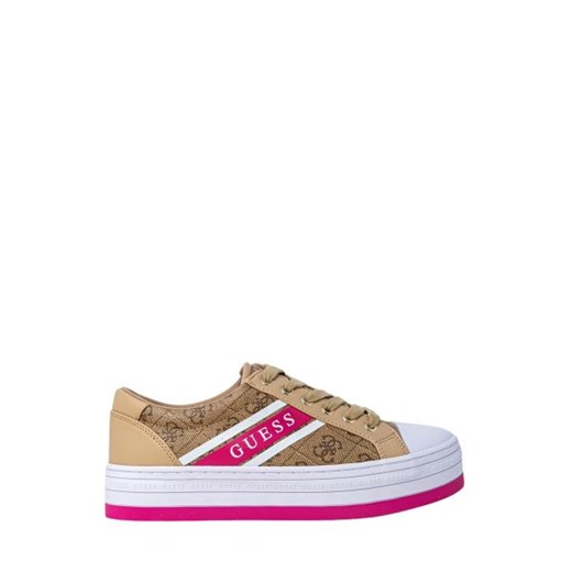guess - Guess Kobieta Sneakers - BARONA ACTIVE - Beżowy Guess 37 Italian Collection