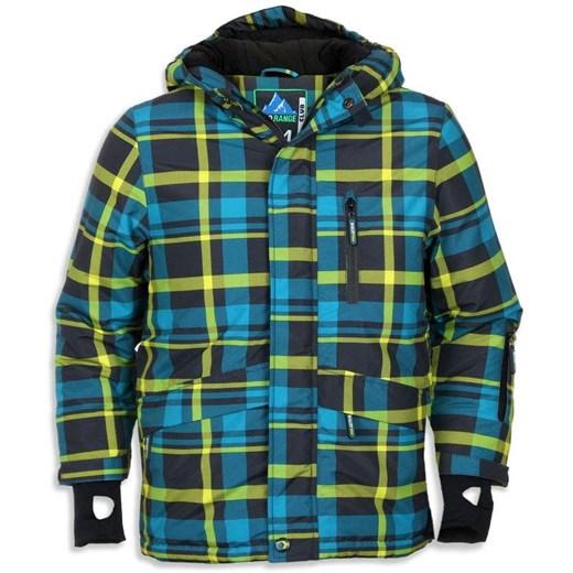 Cool Club, Kurtka narciarska chłopięca, rozmiar 116 Wyprzedaż ubrania i buty nawet do 50% taniej! smyk com zielony chłopięce