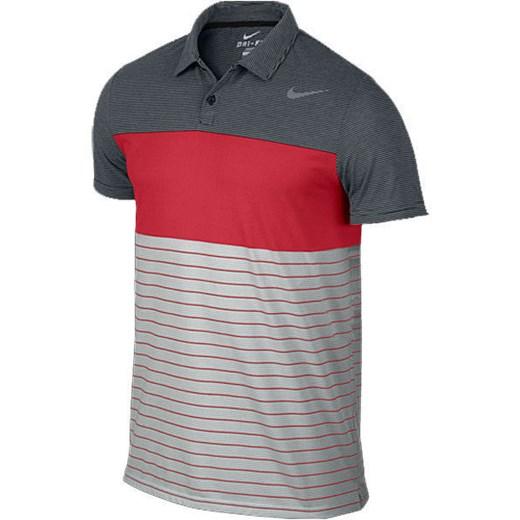 Nike, T shirt męski z krótkim rękawem, Dri Fit Touch Stripe Polo 598146 010, rozmiar L Spodnie, spódnice, sukienki 2 sztuka 70% taniej! smyk com