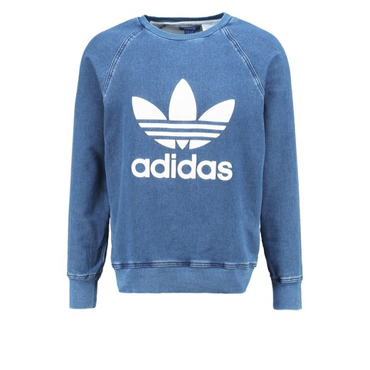 adidas Originals Bluza washed blue zalando niebieski
