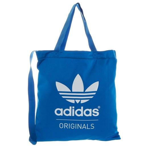 adidas Originals Torba na zakupy blue zalando niebieski