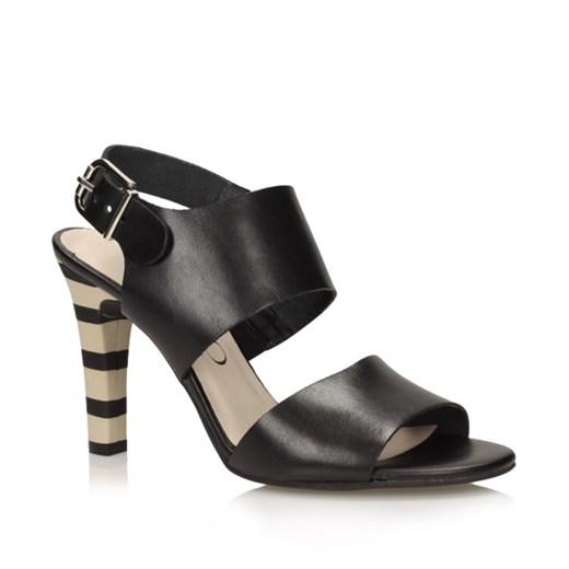 Sandały Ryłko 9AGR1A obuwie lizuraj pl czarny damskie