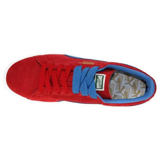 BUTY PUMA SUEDE CLASSIC+ 356568 02 sneakerstudio pl czerwony skóra