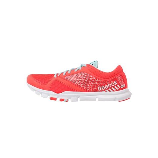 Reebok YOURFLEX TRAINETTE 7.0 Obuwie treningowe neon cherrycool breeze zalando rozowy fitness