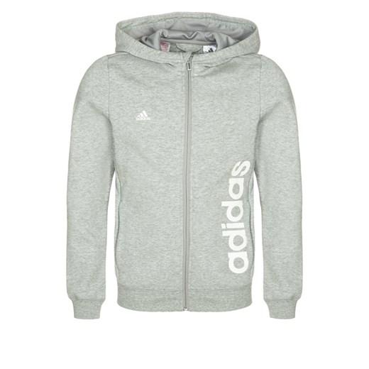 adidas Performance Kurtka sportowa medium grey heatherwhite