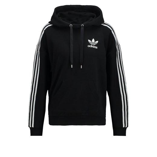 adidas Originals Bluza z kapturem black zalando czarny bawełna