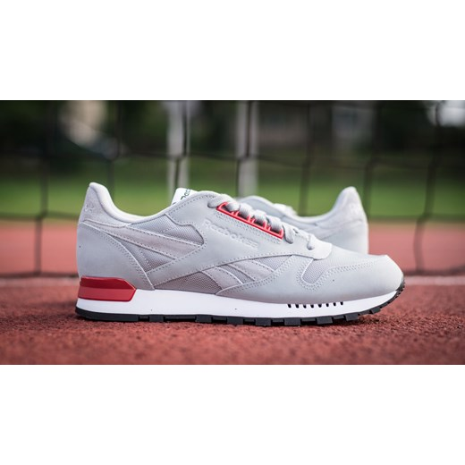 BUTY REEBOK CLASSIC LEATHER RE V62855 sneakerstudio pl szary