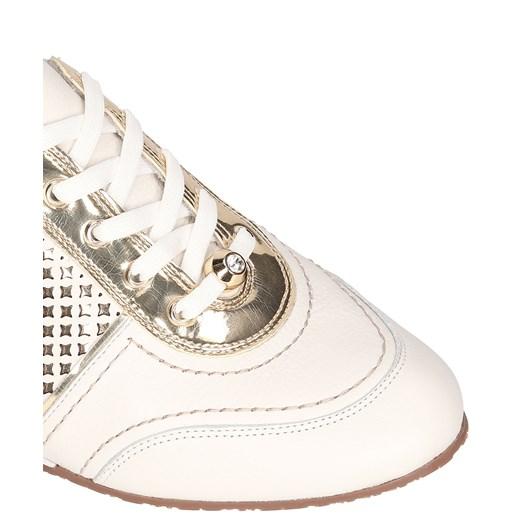 Biało złote buty sportowe kazar com bezowy damskie w Domodi