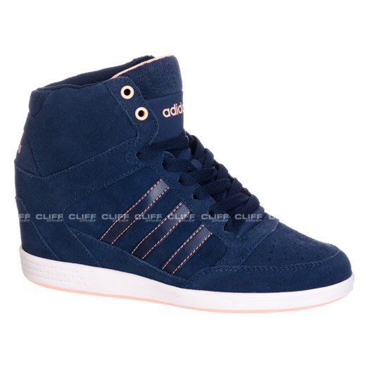 BUTY ADIDAS SUPER WEDGE SNEAKERS cliffsport pl granatowy casual