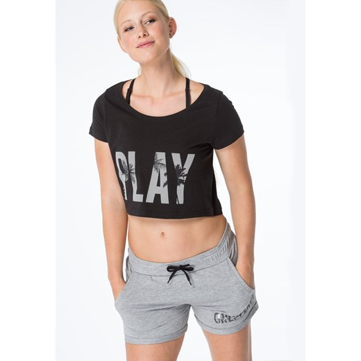Only Play ONPJOYELLE  Tshirt z nadrukiem moonless night bezowy Only Play S Zalando