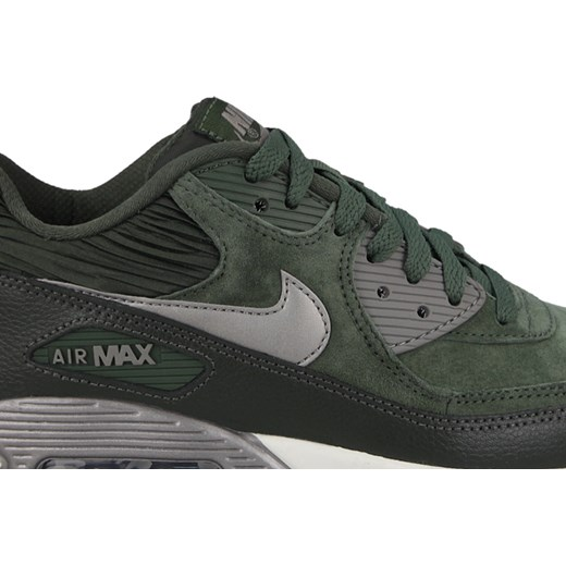 Buty Damskie Nike Air Max 90 768887 301 Green Suede, NIKE