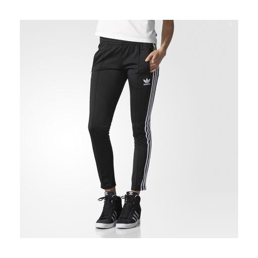 adidas Spodnie dresowe Supergirl Track Pants czarny