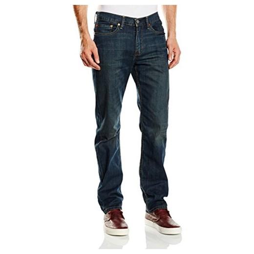 Spodnie jeansowe Levi's 514 STRAIGHT dla mężczyzn, kolor: niebieski, rozmiar: W34L32 Levis szary Amazon