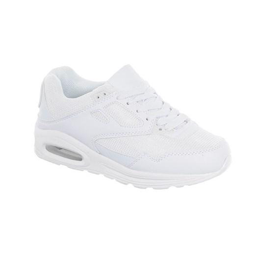 ADIDASY AIR BIAŁE szary Family Shoes w Domodi