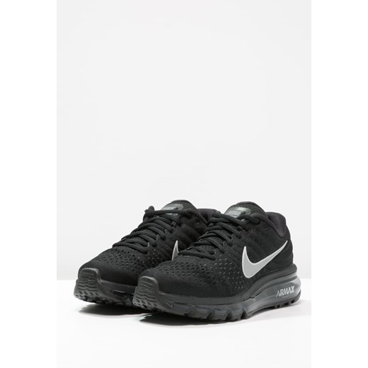 Nike Performance AIR MAX 2017 Obuwie do biegania treningowe blackwhiteanthracite