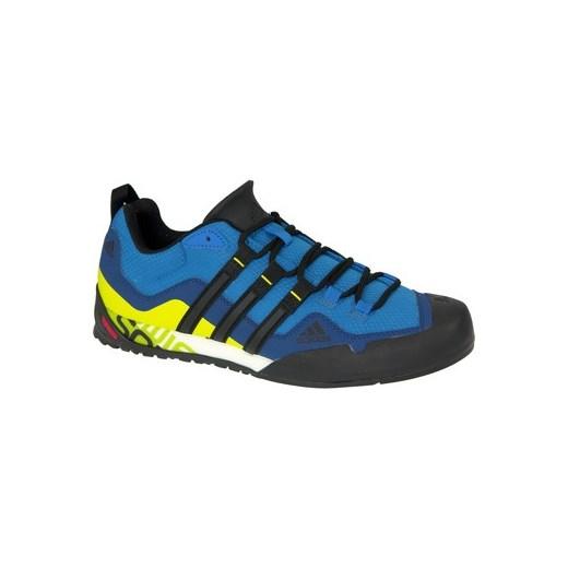 adidas Buty Terrex Swift Solo BA8491 niebieski Spartoo
