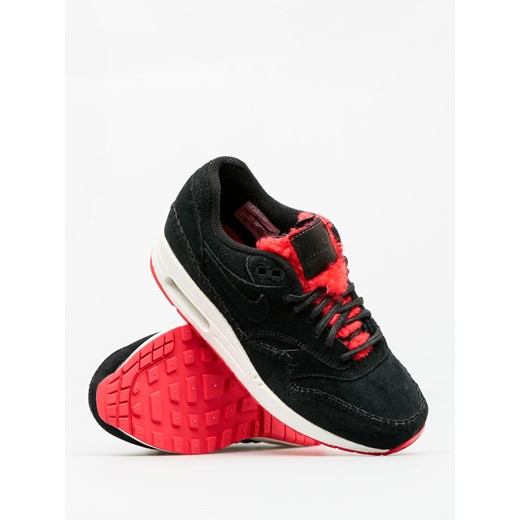 Buty Nike Air Max 1 Wmn (Prm black/black action red)