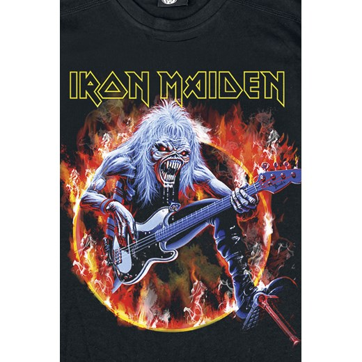 Iron Maiden - Eddie Bass - T-Shirt - czarny