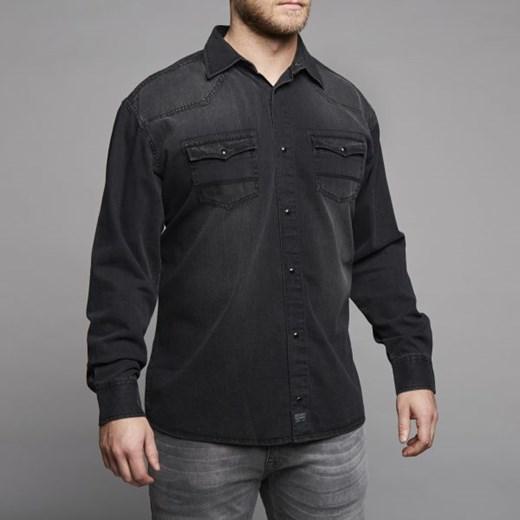 Replika Jeans 73385 Koszula Męska Duże Rozmiary Allsize  LnIOm