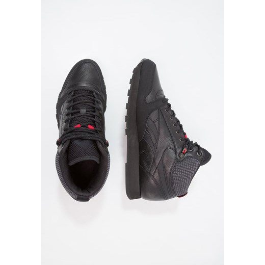 Buy Reebok Classic Cl Leather Mid Twd BlackExcellent Red