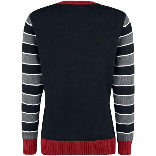 Ugly Christmas Sweater - XMAS Kitty jumper wielokolorowy EMP Odzież Damska OL wielokolorowy SUNH
