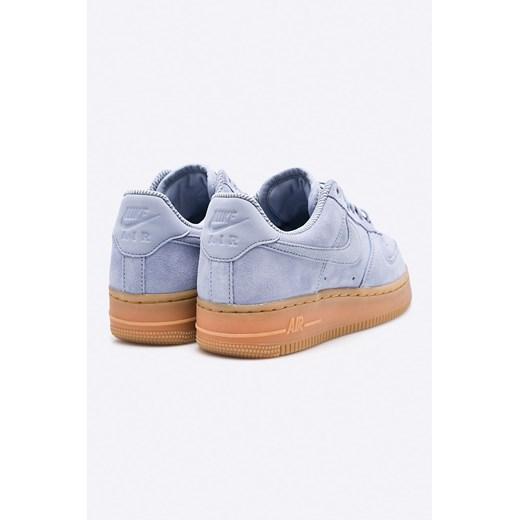 Nike Air Force 1 07 SE AA0287 001 niebieski