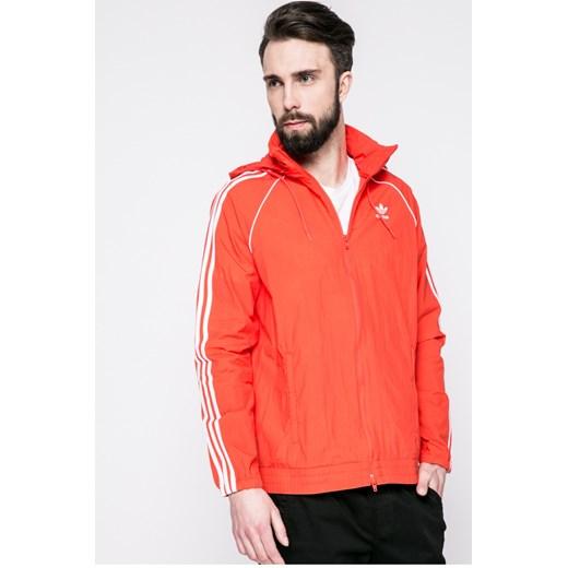 czerwona kurtka męska adidas originals