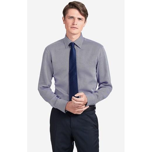 Koszula męska Wólczanka bez wzorów elegancka w Domodi  33KzB