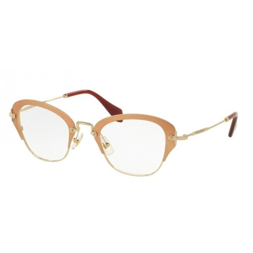 OKULARY MIU MIU MU 53OV UF01O1 50 Miu Miu bialy  Aurum-Optics