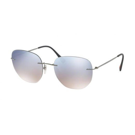 OKULARY PRADA SPORT PS 50TS 5AV5R0 57 bialy Prada  Aurum-Optics