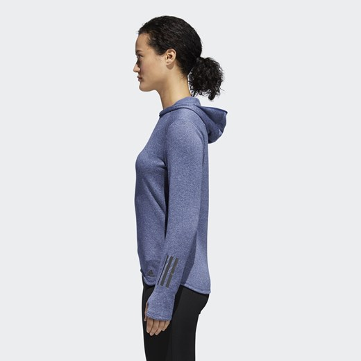 Bluza do biegania z kapturem Response Astro CF1001 Adidas