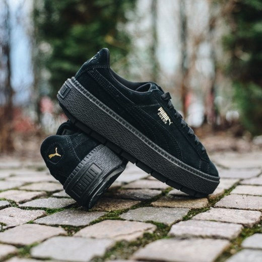 Buty damskie sneakersy Puma Suede Platform Trace