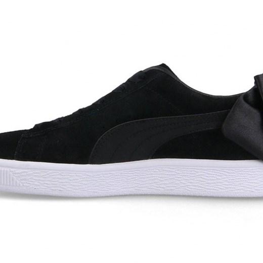 Buty damskie sneakersy Puma Suede Bow Wns 367317 04 RÓŻOWY sneakerstudio.pl