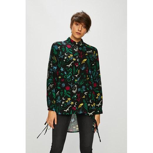Koszula damska Answear jesienna z długim rękawem z dekoltem