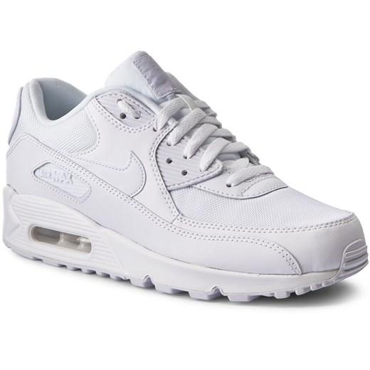 Białe buty sportowe damskie nike nike air max 90, wiosna