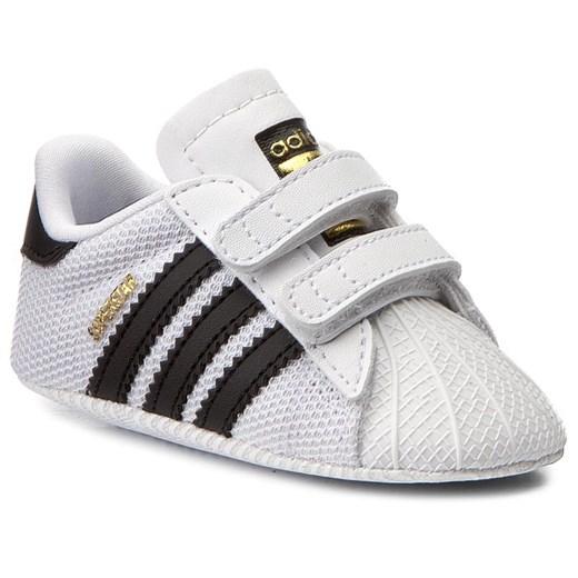 Buciki niemowlęce Adidas jesienne na rzepy