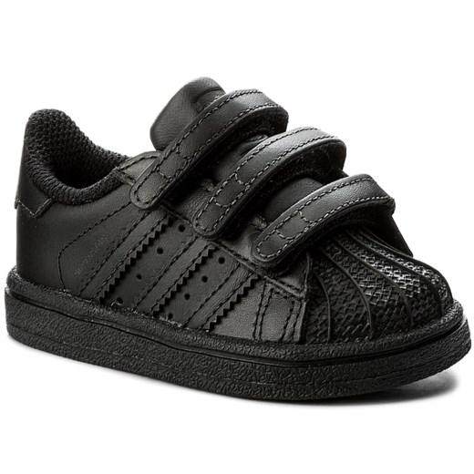 Buciki niemowlęce czarne Adidas na wiosnę w Domodi