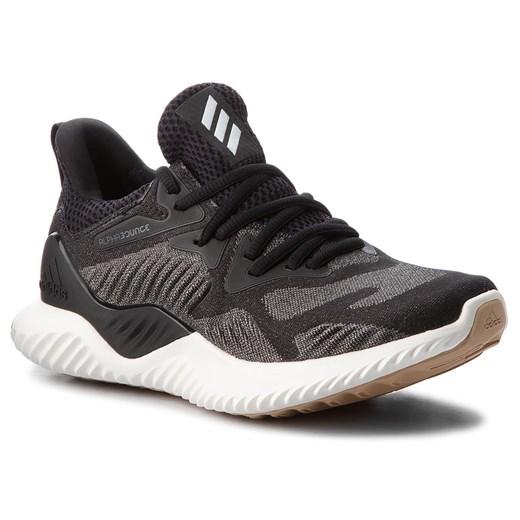 Buty sportowe męskie Adidas alphabounce wiązane z tworzywa