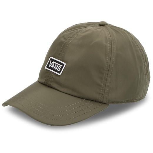 Zielona czapka z daszkiem męska Vans w Domodi