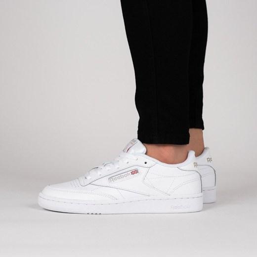 Buty damskie sneakersy Reebok Club C 85 BS7685 BIAŁY