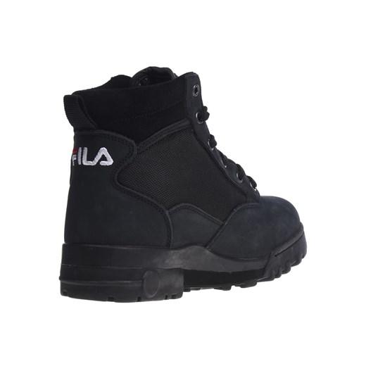 Buty trekkingowe damskie Fila na zimę bez wzorów