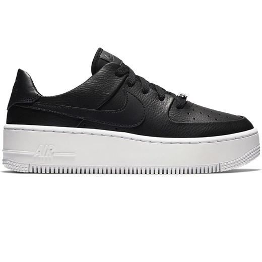 Buty sportowe damskie Nike na wiosnę sznurowane gładkie na