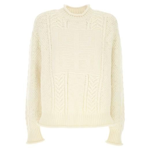 Sweter damski Givenchy gładki w Domodi