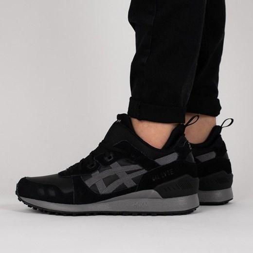 Buty sportowe męskie Asics gel lyte skórzane czarne