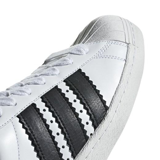 Adidas Originals trampki damskie superstar skórzane sznurowane gładkie